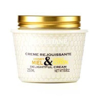 L'Occitane(ロクシタン)  ハニーレモンディライトフルボディクリーム 250ml